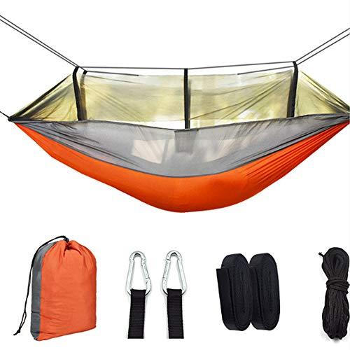 Ultralight Ademende Hangmat, Camping Swing Hangmat Air Tent met Klamboe Nylon Hangmat