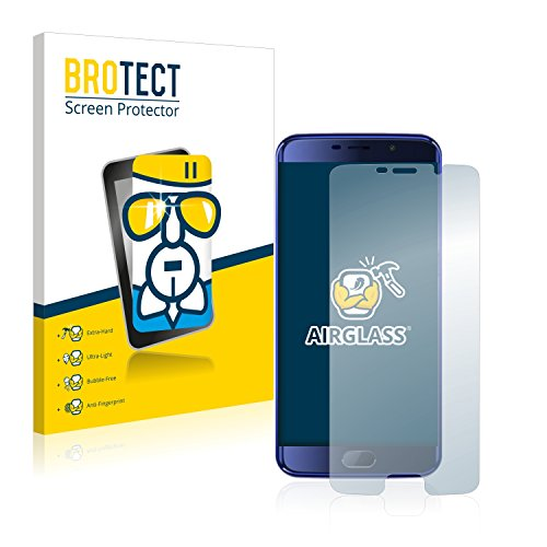 BROTECT Protector Pantalla Cristal Compatible con Elephone S7 Mini Protector Pantalla Vidrio - Dureza Extrema, Anti-Huellas, AirGlass