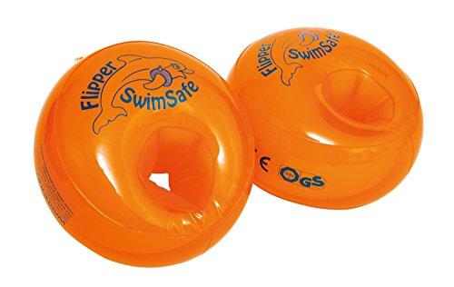 Flipper SwimSafe Schwimmhilfe ab 1 Jahr, TÜV und GS geprüft (3 Set)