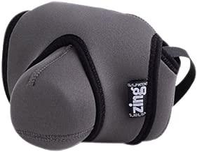 Zing GRAY 502-205 Large Neoprene Camera Case for DSLR Cameras with 18-55mm lens, 50mm or 55-200mm lens