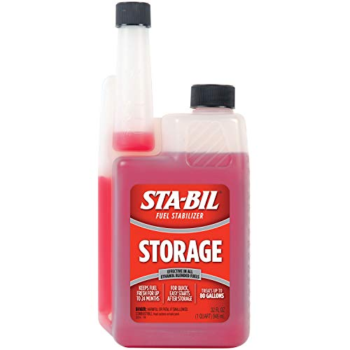 STA-BIL 22214 Storage Fuel Stabilizer (32 fl. oz.) $8.88 at Amazon