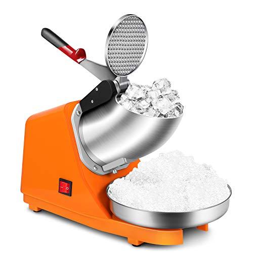 Flexzion Commercial Ice Shaver Machine