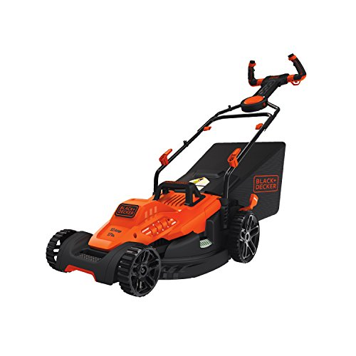 "BLACK+DECKER BEMW482ES Electric Mower 17"" Lawn Pivot Control Handle"