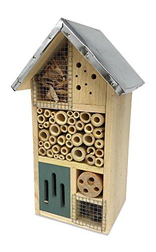 Laterne Hill Multi-Chambered Insektenhaus, Speziell für Ihre Lieblings-Garden Friends, 18,5x 15,2x 31,8cm