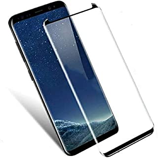 Samsung Galaxy Note 9 Screen Protector,Tempered Glass Screen Protector (Black)