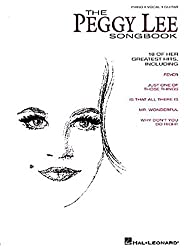 The Peggy Lee Songbook (Piano Vocal Guitar)