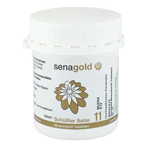 Schüßler Salz Nr.11 - Silicea D12 - 400 Tabletten, glutenfrei