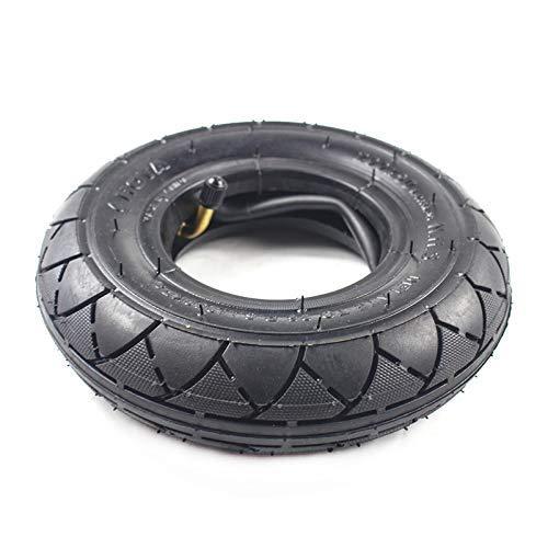 1 neumático de 200X50 (8 Pulgadas) Apto para Scooter eléctrico de Gas y Scooter eléctrico (Tubo Interior Incluido) Rueda de Silla de Ruedas