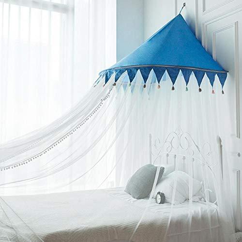 Feunet Decke Prinzessin Wind Moskitonetz Kostenlose Installation Decke Bett Mantel Haushalt Junge Mädchen Moskitonetz für Kinder Mädchen Jungen