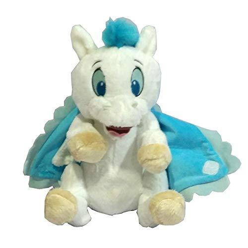 qwerqz Weiche Spielzeuge-herkules Babys Pegasus Mit Decke Wickeltuch Weißes Pferd Plüschtier Kuscheltiere 25cm 10 \'\' Baby Kinderspielzeug Für Kinder