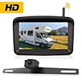 Wireless Backup Camera with 5' Monitor for Car/Pickup/Semi Box...