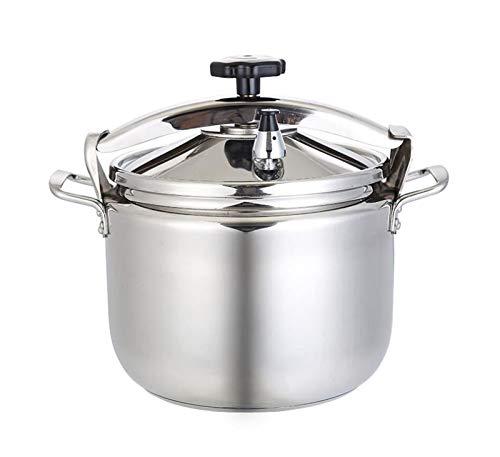 Cuisinière à pression commerciale 304 Acier inoxydable Sécurité des ménages à grande capacité Multi-fonction Grand pot Cuisinière à induction de pot, cuisinière à gaz adaptée aux hôtels, restaurants,