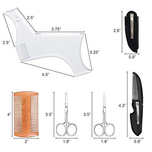 Beard shape template