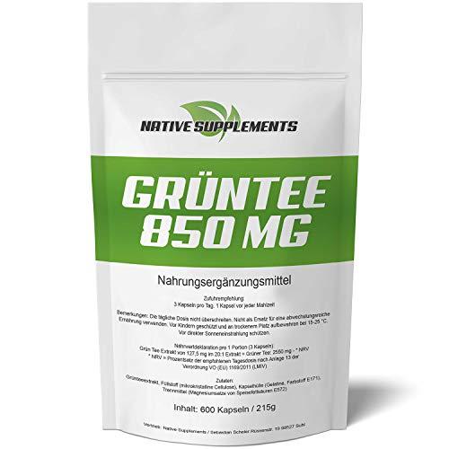 Native Supplements -  Grün Tee Extrakt -