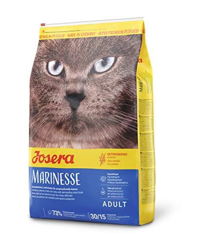 Josera Marinesse Kattenvoer met zalm, hypoallergeen, super premium droogvoering, per stuk verpakt (1 x 10 kg)