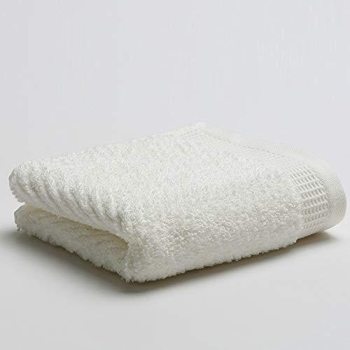 CMZ Toalla de algodón Puro Absorbente Fuerte de 140 g para Adultos Toallas Simples sólidas Pareja Toalla Lisa Lisa Diaria (35x78 cm)