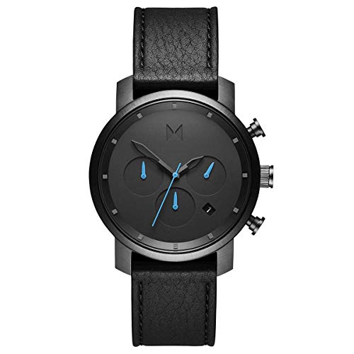 MVMT Men's Chronograph Watch with Analog Date | Gunmetal Black