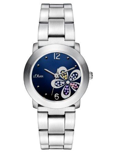s.Oliver SO-2479-MQ - Reloj analógico...