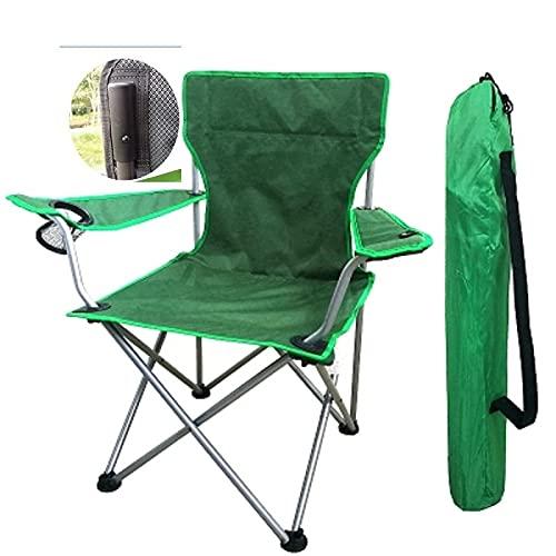 Mountainsea Sillón grande portátil silla de playa silla de pesca, silla de ocio, silla trasera de arte (color: B)
