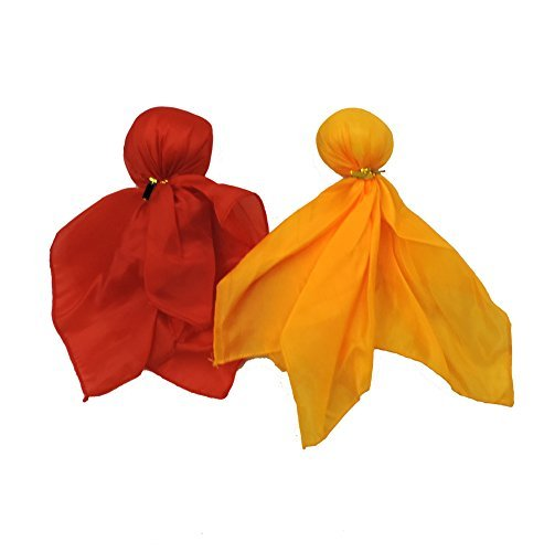 Red Challenge & Yellow Penalty Sports Fan Tossing Flags