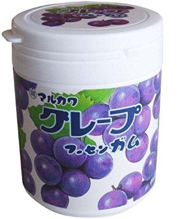 丸川製菓 グレープマーブルガムボトル 130g×3個