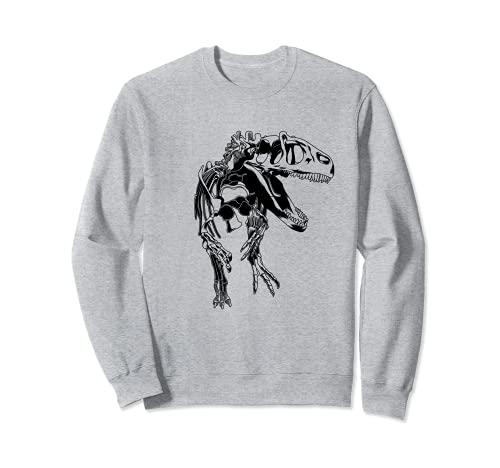 Tyrannosaurus Rex Esqueleto T-Rex Sudadera