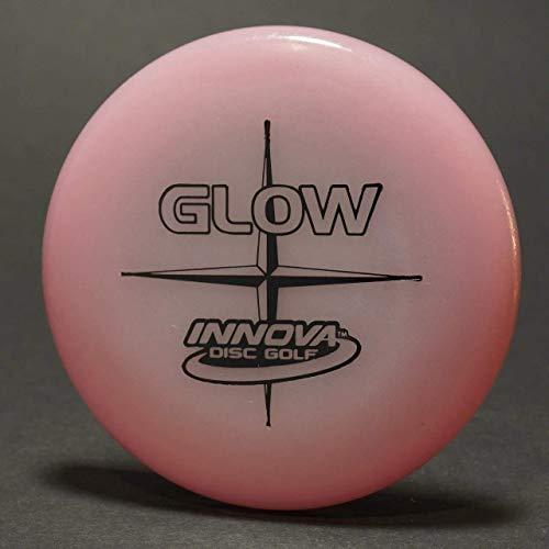 Innova Glow Mini Disc Glows in The Dark Marker Disc or Night Thrower Pink