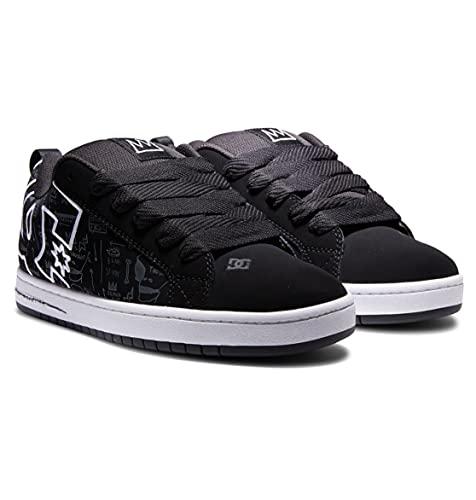 DC Shoes Basq Court Graffik Uomo Formatori Pattinare - 43 EU