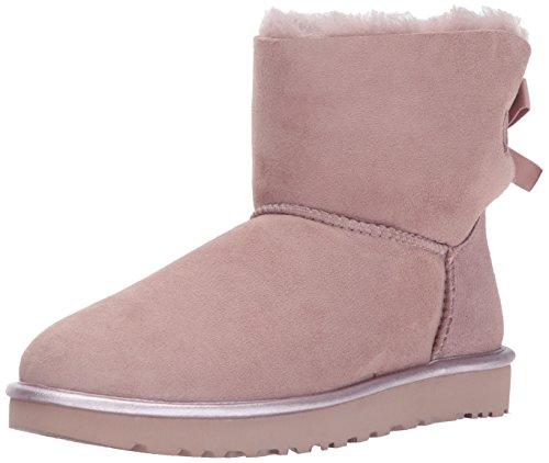 UGG® Australia Mini Bailey Bow Ii Metallic Damen Stiefel Pink