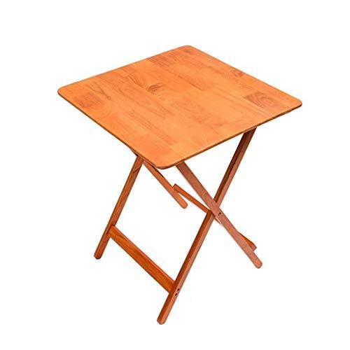 WTT Opklapbare tafel Tuintafels eettafel Familie eettafel in massief hout Klein appartement Vierkante tafel Eenvoudige studeertafel Outdoor tafel (Afmetingen: 60 * 40 * 75 cm)