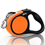 MigooPet Heavy Duty Retractable Dog Leash 16 Foot Strong and Durable Walking Leash for S To L Dogs Up To 45/115 lbs, Upgraded Lock System, Non Slip Grip, Anti Tangle