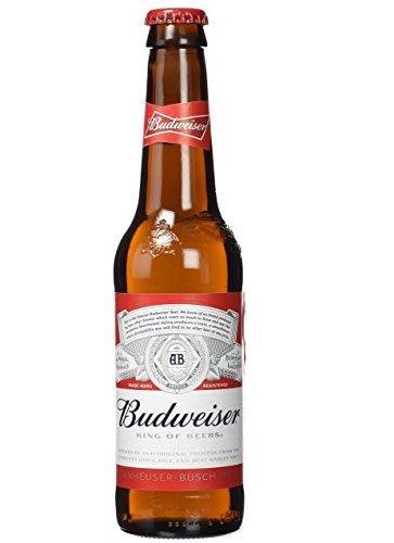 Budweiser - Cerveza Botella 33 cl