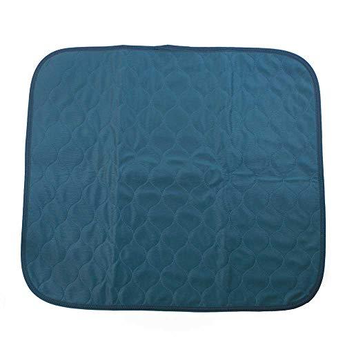 NRS Gezondheidszorg Wasbare Stoel Pad Incontinentie Bescherming Blauw