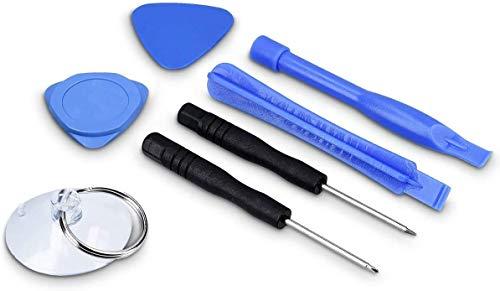 Générique Kit 8 Outils Smartphone - Set réparation et démontage téléphone et Tablette - Tournevis, Outil Ouverture, plectre et Ventouse