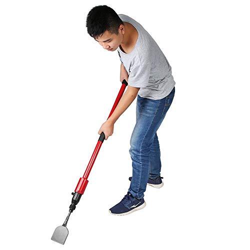 Luchtschop pneumatische schraper 42 inch, Jadpes Long Reach pneumatische lucht stalen schraper voor het verwijderen van vloeren Lijm van keuken Badkamerlassen, plat soldeer