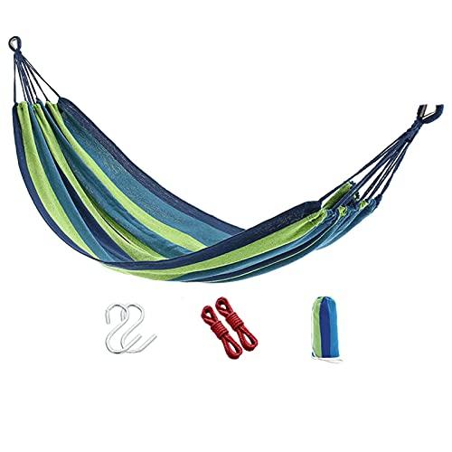 Al Aire Libre Jardín Portátil Camping Hamaca,Supervivencia Mueble Ocio Dormir Viaje Doble Paracaídas Cama Colgante,B
