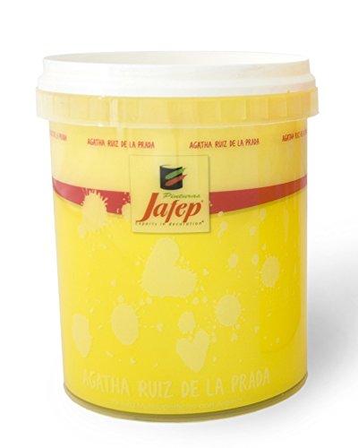 Jafep 24767031 Esmalte acrílico, Amarillo (Sol), 750 ml