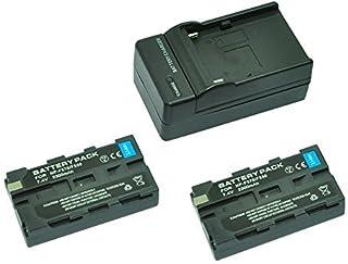 MP power @ 2X Reemplazo Li-ion batería NP-F550 NP-F570 NP-F330 NP-F530 2300mah 72V + cargador para Sony CCD-RV100 CCD-RV200 CCD-SC5 CCD-SC6 CCD-SC55 CCD-SC65 CCD-TRV66 CCD-TRV67 DCM-M1 DCR-SC100 DCR-TR7 DSC-CD250 DSC-CD400 DSC-D700 DSC-D770 D-V500 EVO-250 GV-A100 GV-A500 HDR-AX2000 HDR-FX7 HDR-FX1000 HVR-M10P HVR-M10U HVR-V1J HVR-V1U HVR-Z7U HXR-NX5U H-126 H-160