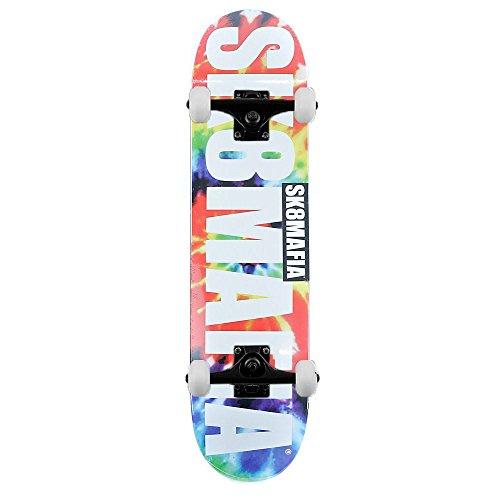 SK8MAFIA Skateboards Og logo Tie Dye skateboard completo multi 19,7cm