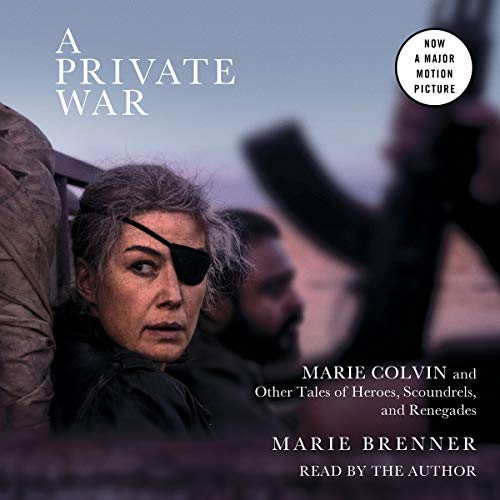 A Private War audiobook cover art