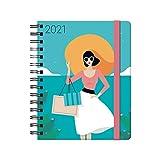 DOHE Agenda Sophie Diseñada por María Diamantes - Agenda Anual Semana Vista - Medidas 15 x 21 cm - 176 páginas - 4...