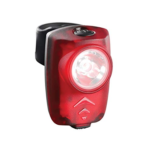 CECO-USA: 100 Lumen USB Rechargeable Bike Tail Light - Super Bright Model T100 Bicycle Rear Light - IP67 Waterproof, FL-1 Impact Resistant - Red Safety Light - Pro Grade Quality Bike Tail Light
