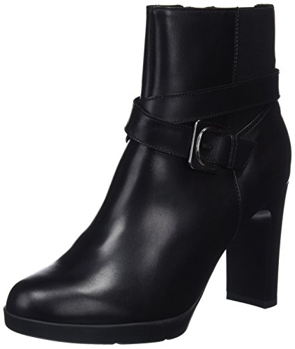 Geox D Annya High E, Botines para Mujer, (Black C9999), 37 EU