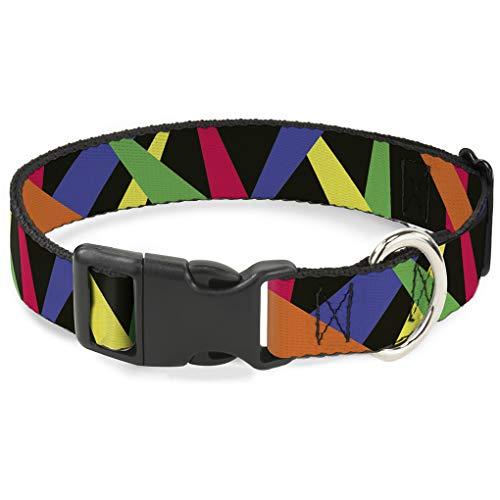 Buckle Down bac-w31907-nm Breakaway Katzenhalsband, 1/5,1cm breit–passt 20,3–30,5cm Nacken–Medium, Strahler
