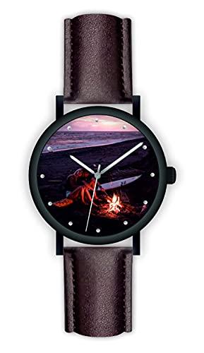 Memories - Reloj de pulsera personalizado con su foto de moda, diámetro de 40 mm, regalo para fotos para amigos y familiares