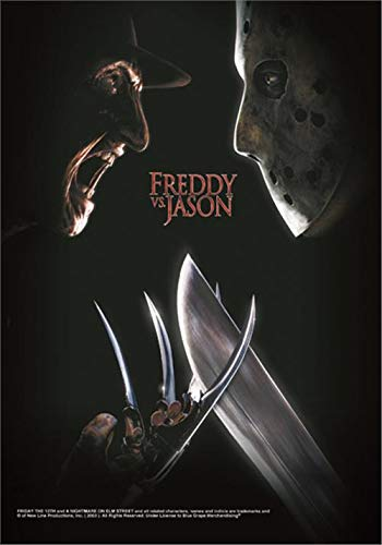 FREDDY VS. JASON FLAGGE FAHNE POSTERFLAG FREDDY KRUEGER JASON VORHEES