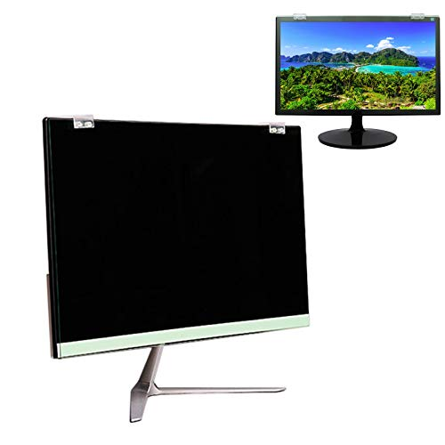 YJJT Desktop Computer Monitor Anti Blue Light Protective Filter - Eye Protection Screen Film, Reduce Eye Fatigue, Anti Scratch, 19, 22, 24 Inch, Easy To Install, Washable, Removable Screen Protector