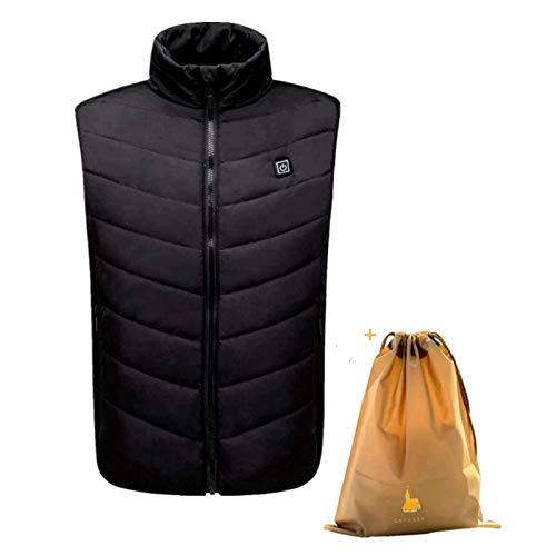 gilet riscaldato elettrico lavabile regolabile carica usb riscaldamento giacca riscaldata abbigliamento invernale maglia calda ricaricabile lavabile e sicurezza mal schiena outdoor caccia campeggio