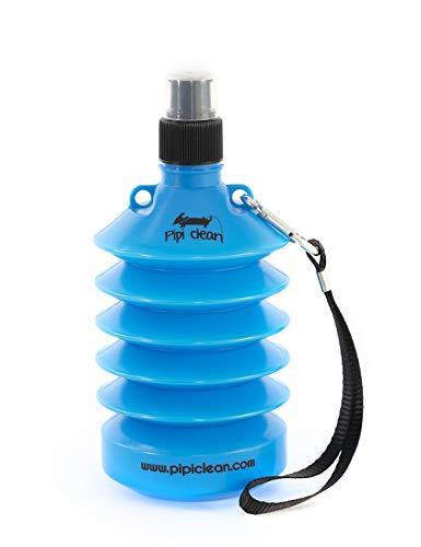 Pipi Clean Botella higienizante Plegable para Limpiar el PIS de los Perros | Limpiador orina Pipi Mascotas (Azul Scooby Doo)