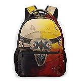 Sac à dos pour école d'Amérique, style amérindien, roue de médecine, bison pour école, collège, étudiants, livre, ordinateur portable, sac décontracté